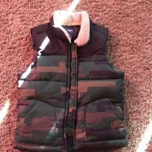 Army fatigue vest